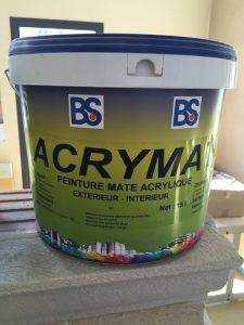 Peinture acrylique ACRYMAT Blanc à Béziers