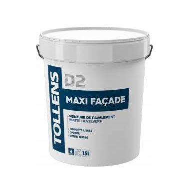 Peinture acrylique de façade Spécial supports lisses en bon état